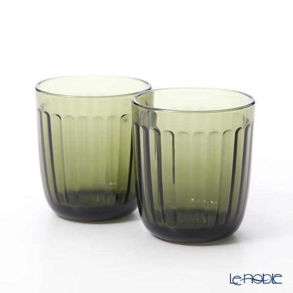 Iittala 'Raami' Moss Green Tumbler 260ml (set of 2)