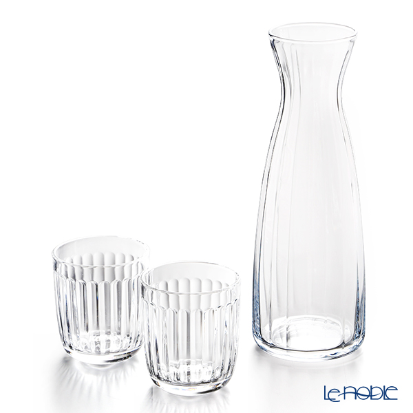 Iittala Raami Tumbler 260ml pair + Carafine 1.0 L Clear