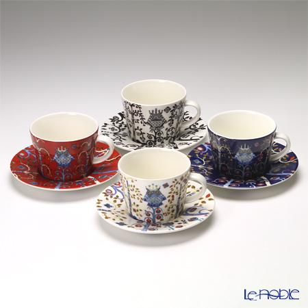 イッタラ(iittala) タイカ 4colors コーヒーカップ&ソーサー 200cc 4客セット