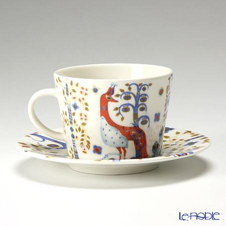 イッタラ(iittala) タイカ ホワイト&ブルーコーヒーカップ&ソーサー 200cc ペア