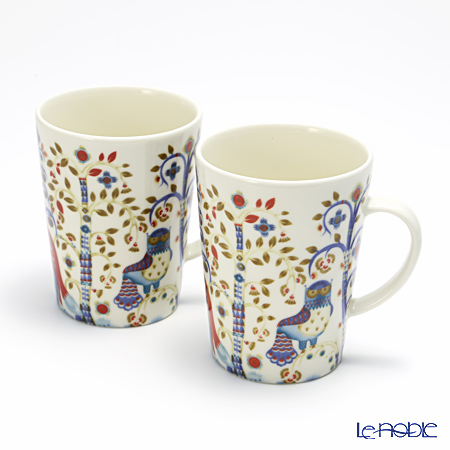 Iittala Taika White Mug 400ml (set of 2)