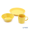 Iittala 'Teema' Honey Yellow 1052430&1052432&1026887 Mug, Plate, Bowl (set of 3 for 1 person)