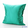 Thompson Cushion cover silk Solid emerald green cushions Magzine