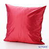 Thompson Cushion cover silk Solid pink cushion Magzine