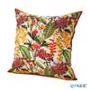 Jim Thompson 'Rainflower' Beige Silk Cushion Cover (with Cushion) 46x46cm