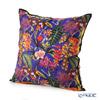 Jim Thompson 'Rainflower' Blue Purple Silk Cushion Cover (with Cushion) 46x46cm