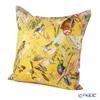 Jim Thompson 'Singing Bird' Yellow Silk Cushion Cover (with Cushion) 46x46cm