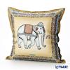 Thompson Cushion cover silk ruffle 70006C Zouceremony brown / beige cushion Magzine