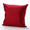 Thompson Cushion cover silk 110428 Solid Burgundy cushion Magzine