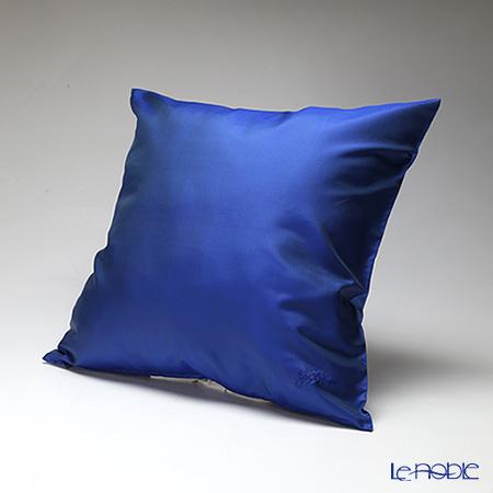 クッション ブルー