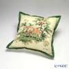 Jim Thompson Cushion cover cotton ruffle 2249581A 2 elephant forest tropical cushions Magzine