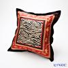 Thompson Cushion cover silk ruffle PSB9654A Parent-child elephants Zebra red / black cushion Magzine