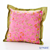 Thompson Cushion cover silk ruffle 1169590E Zouframeflower pink cushion Magzine
