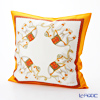 Thompson Cushion cover silk ruffle 1169722C Elephant 4/orange/white cushion Magzine