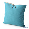 Thompson Blue Plain 2122/08T Cushion Cover (with Cushion)