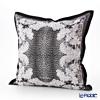 Thompson Cushion cover silk ruffle 7710F How flower black cushion Magzine