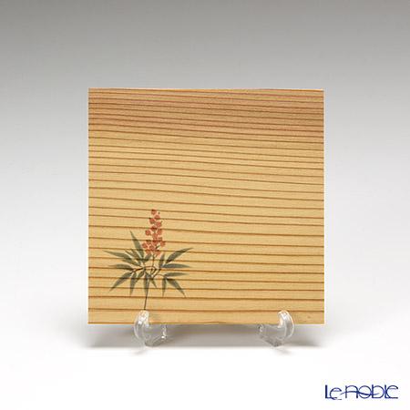 高野竹工 杉小皿南天 5枚セット 038-01