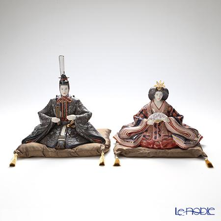 リヤドロ 雛人形 親王&内親王 ハイポーセリン 01940&01939 LE1000 世界限定生産1000点