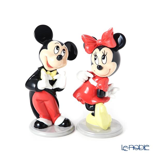 リヤドロ ミッキーマウス 09079 & ミニーマウス 09345 ペア