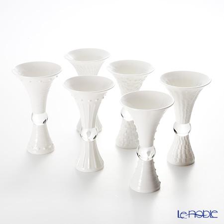 琉璃工房 LIULI LIVING 酒杯 琉璃玉 クリア幾何六釈 6種類セット