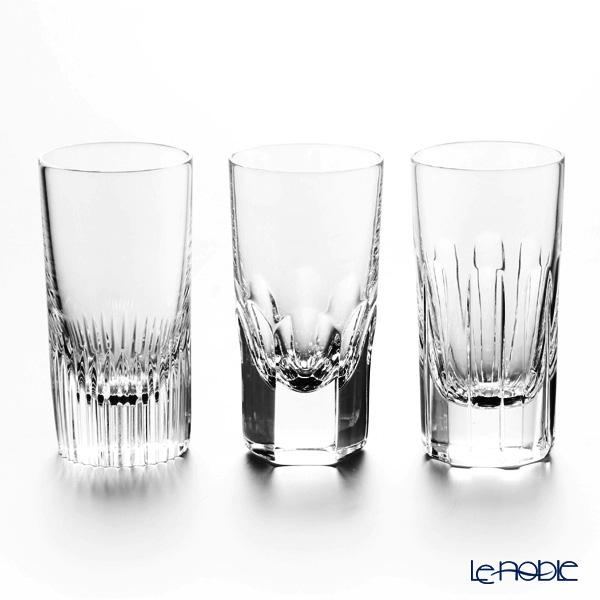 La maison double Tuileries Madeleine Pigalle Shot glass set of 3 90 ml