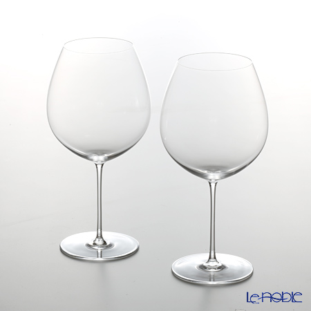 Le Vin professional Bourgogne Wine 1567-03 h21.5cm 750cc set of 2