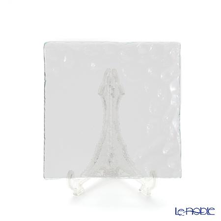 Modern Bohemia 'Kamen' Clear Square Plate 14.5x14.5cm (set of 6)