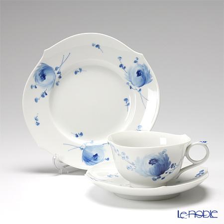 マイセン(Meissen) 青い花 トリオセット(ティー)