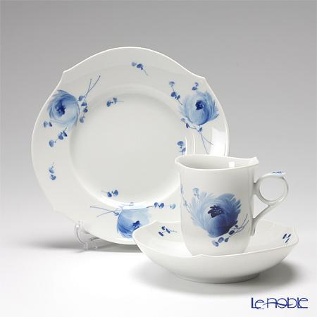 マイセン(Meissen) 青い花 トリオセット(コーヒー)