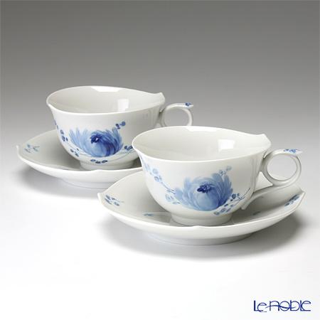 マイセン(Meissen) 青い花 614701/28633ティーカップ&ソーサー 170cc ペア