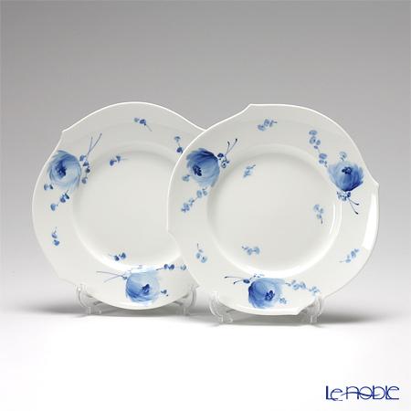 マイセン(Meissen) 青い花 614701/28470 プレート 19cm ペア