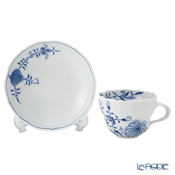 マイセン(Meissen) ブルーオニオン スタイル 801001/00582コーヒーカップ&ソーサー 200cc ペア