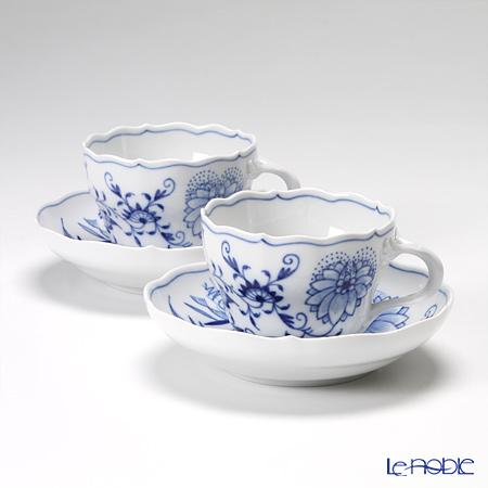 マイセン(Meissen) ブルーオニオン 800101/00582 コーヒーカップ&ソーサー 200cc ペア