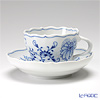 MEISSEN Blue Onion Coffee cups & saucers gift box with