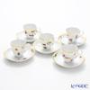 Meissen (Meissen) Meissen dream 701590 / 33579 Espresso Cup & Saucer 5 set 1.2.3.5.6