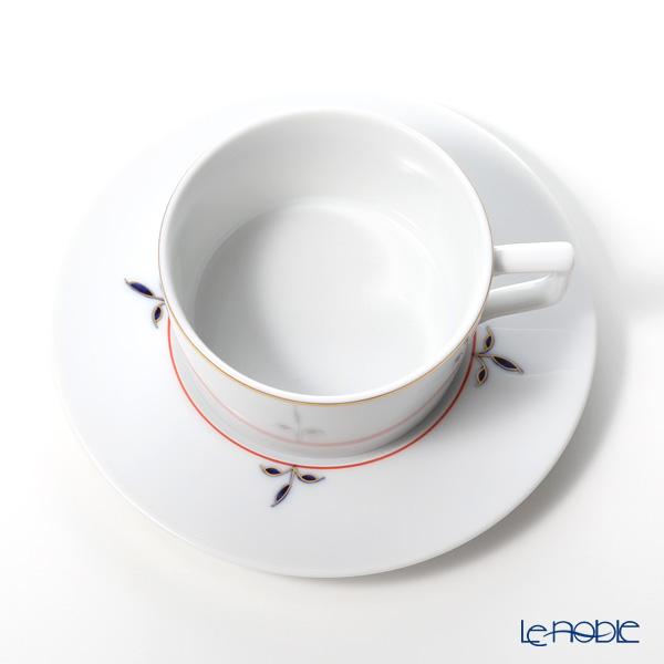 マイセン(Meissen) ノーブルブルー 802490-41633(98A077-41623/562)ティーカップ&ソーサー 150ml (ブロッサムツィッグ) ペア