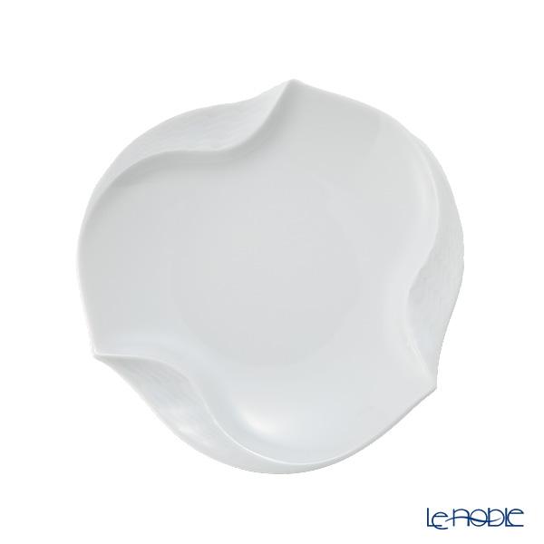 マイセン(Meissen) 波の戯れホワイト 000001/53574ギフトプレート 12.5cm 6枚セット