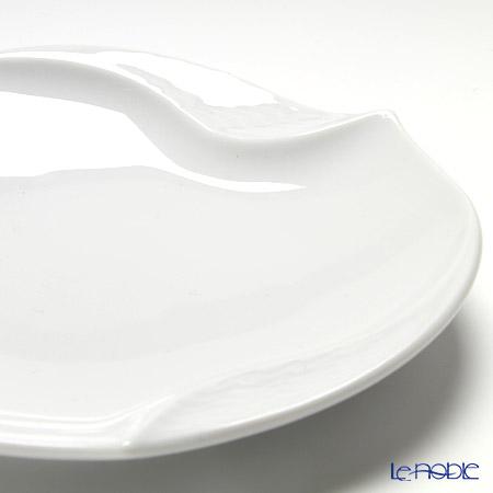 マイセン(Meissen) 波の戯れホワイト 000001/53574ギフトプレート 12.5cm 5枚セット