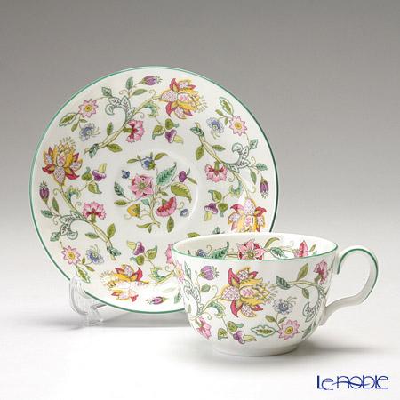 Minton 'Haddon Hall' Green Tea Cup & Saucer 220ml (set of 2)