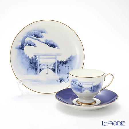 Narumi Ise Shima Ise-Jingu Shrine Plate 19 cm and Coffee Cup \u0026 Saucer  sc 1 st  Le noble & Le noble - Narumi Ise Shima Ise-Jingu Shrine Plate 19 cm and Coffee ...
