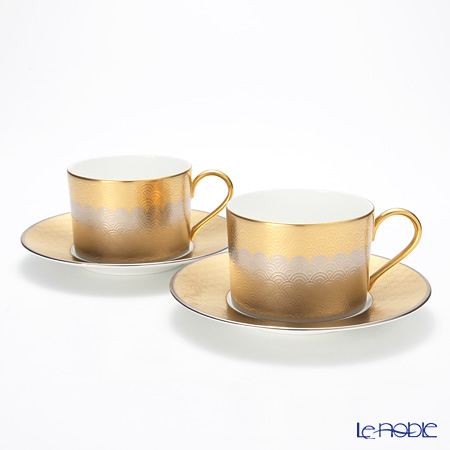 Nikko Fortune Teacup & Saucer, 270 cc set of 2