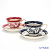 Nikko Blue & Red Willow Coffee Cup & Saucer, 240 cc set