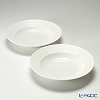 Primobianco 'Wave' Soup Plate 23cm (set of 2)