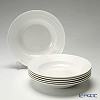 Primobianco 'Wave' Soup Plate 23cm (set of 6)