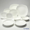 Primobianco 4 shape plates & bowl 10 pcs. for 2