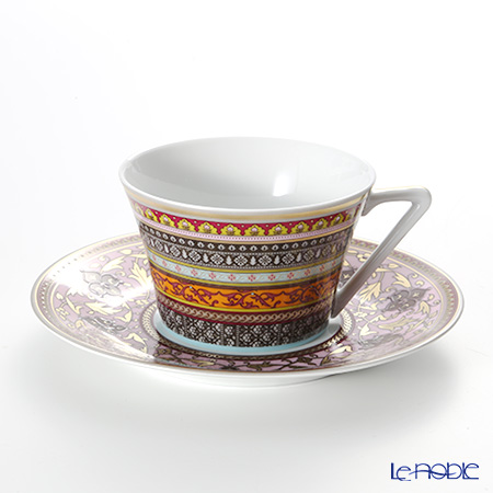 Deshoulières Ispahan Teacup & saucer set of two