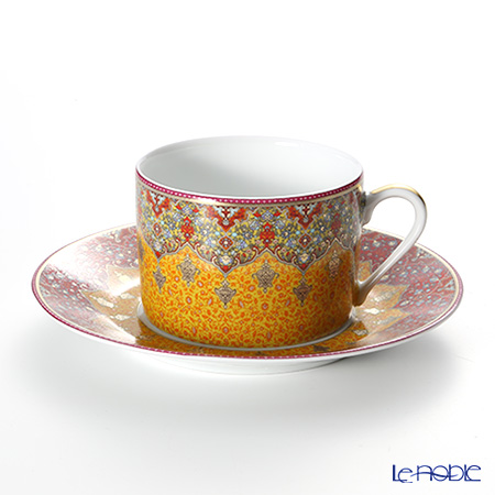 Deshoulières Dhara Teacup & saucer set of two
