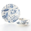 Portmeirion Botanic Blue Plate 21 cm and Tea cup & Saucer