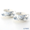 Portmeirion Botanic Blue Tea Cup & Saucer (Set of 2)