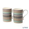 Portmeirion 'Atrium - Geo' Mug 340ml (set of 2)